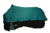 AXIOM 1800D Ballistic Blu/Blk Super Tough 300g Horse Blanket