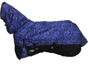 AXIOM 1800D Ballistic Nylon Purple Paisley Combo Rain Sheet