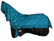 AXIOM 1800D Ballistic Nylon Irish Paisley Combo Rain Sheet